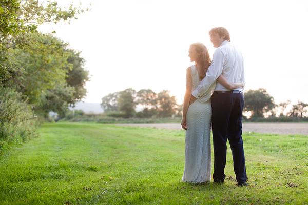 Julia & Colm Wedding - Tithe Barn Hampshire