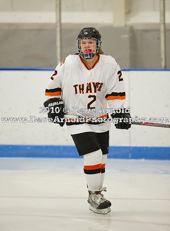 1/10/2011 - Girls Varsity Hockey - Thayer vs Nobles
