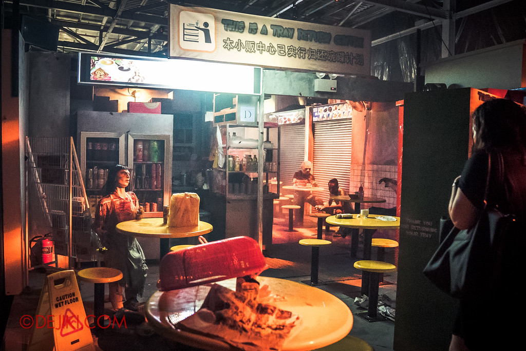 Halloween Horror Nights 6 Sneak Preview - Hawker Centre Massacre