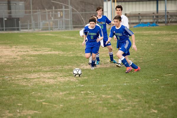 Varsity Soccer at Dallas Lutheran 1.24.17