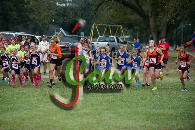 2015 RFaC Middle School - Girls run
