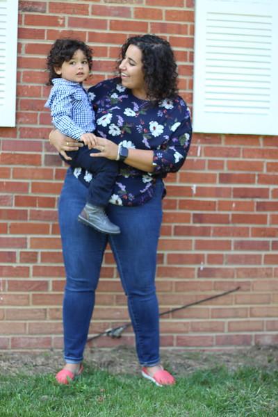 Theo + Mama