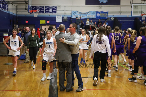 2018-12-15 York Girls Basketball vs Marshwood Class A South