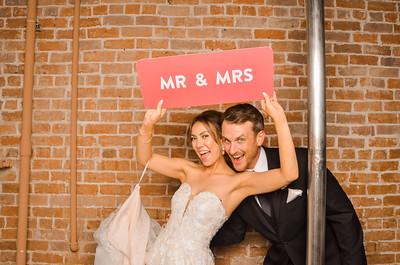 Melissa & Austin's Wedding Photo Station