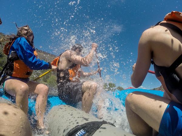 ASWWU Outdoors Rafting Trip (5-1-16)