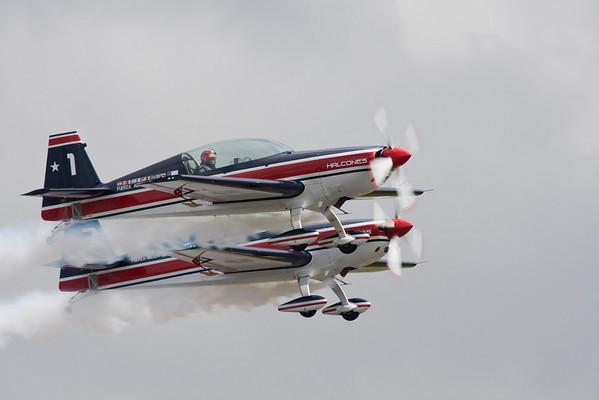 los Halcones, chilean Air Force Display team
