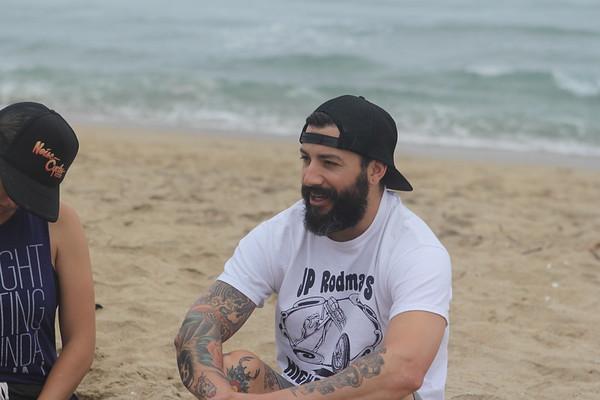 Beach Workout 8/6/2016