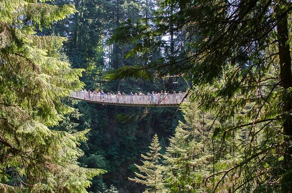 Capilano Suspension Bridge Park, Vancouver, Canada