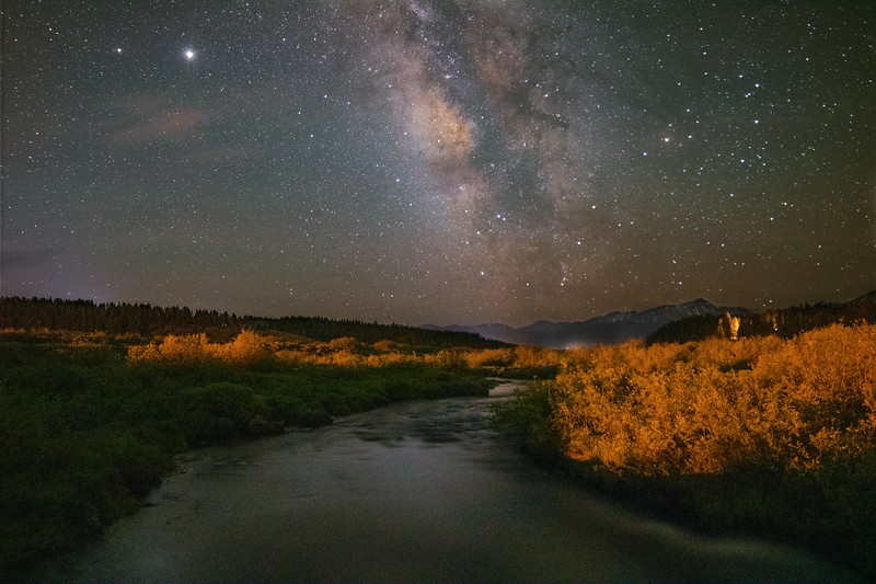 Milky Way Over Tennessee Creek
