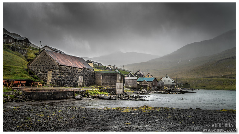 Boat Houses by the Sea   Photography Wayne Heim