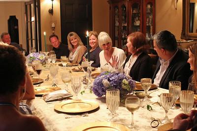 Dinner with the Stars - Linda Evans & Chef Sheila at Villa Madera