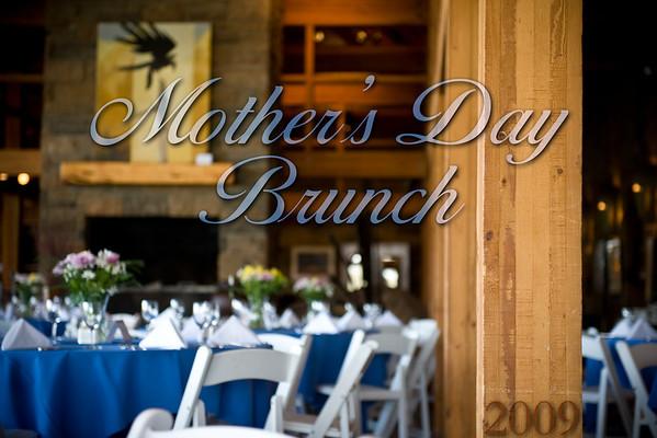 Mothers Day Brunch 2009 - Details