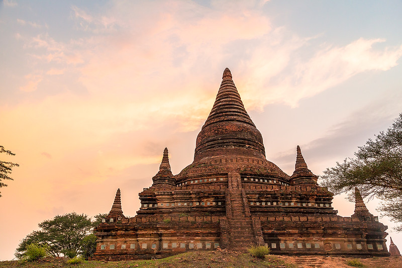 Sunset on the Pagoda