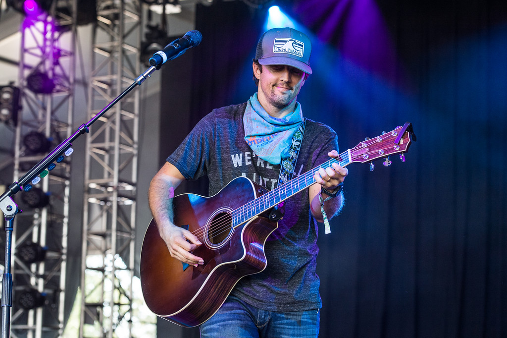. Jason Mraz performs at Bonnaroo Music and Arts Festival on Saturday, June 11, 2016, in Manchester, Tenn. Mraz performs July 27 at Jacobs Pavilion at Nautica. For more information, visit nauticaflats.com.  (Photo by Amy Harris/Invision/AP)