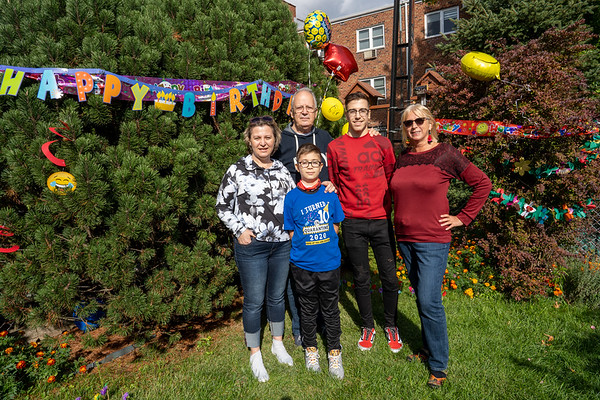 Andy 10 years birthday celebration - October 20, 2020