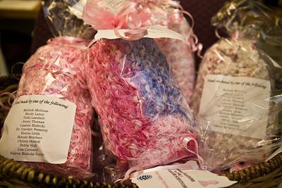 Pink Scarves for Cancer