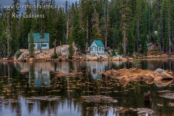 Mosquito Lake and Alpine Lake