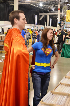 Final day of Motor City Comic Con 2014