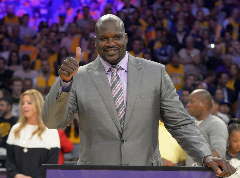 """. <p><b> Retired NBA star Shaquille O�Neal made news this week when he purchased � </b> <p> A. A minority share of the Sacramento Kings   <p> B. The Sacramento Kings  <p> C. Sacramento  <p><b><a href=\'http://espn.go.com/nba/story/_/id/9716271/shaquille-oneal-talks-role-new-owner-sacramento-kings\' target=\""""_blank\"""">HUH?</a></b> <p>   (AP Photo/Mark J. Terrill, File)  <p>Kevin Cusick talks fantasy football with Bob Sansevere and \""""The Superstar\"""" Mike Morris on Thursdays on Sports Radio 105 The Ticket. Follow him at <a href=\'http://twitter.com/theloopnow\'>twitter.com/theloopnow</a>."""