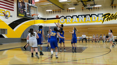 190115 GHS WOMEN'S JV BASKETBALL (FOOTHILL GAME)