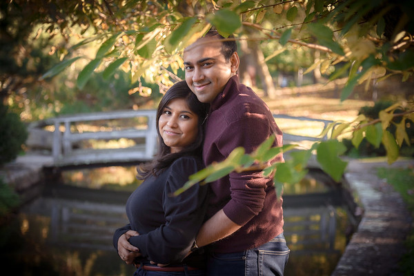 Saheli and Shu's Engagement Photo