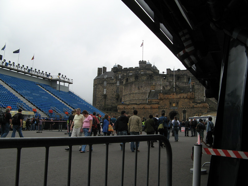 The Military Tattoo (an international drum corps show) is at the same time as the Fringe Festival.