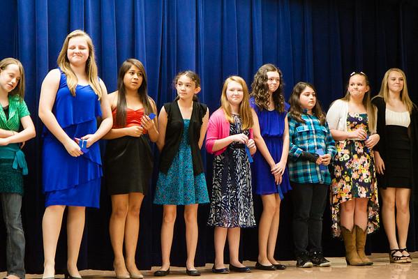 Parkhill Jr High 7th Grade Sports Banquet 2013