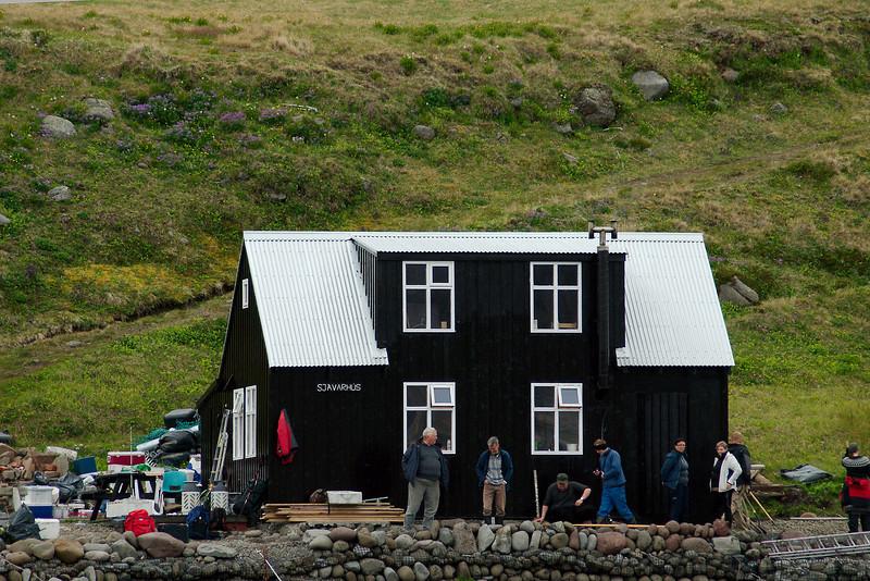 Aðalvík - Látrar. Sjávarhús. 2012.