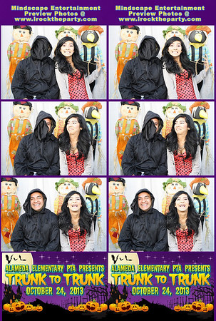 Alameda Elementary School PTA Trunk to Trunk - Photo Booth Pictures