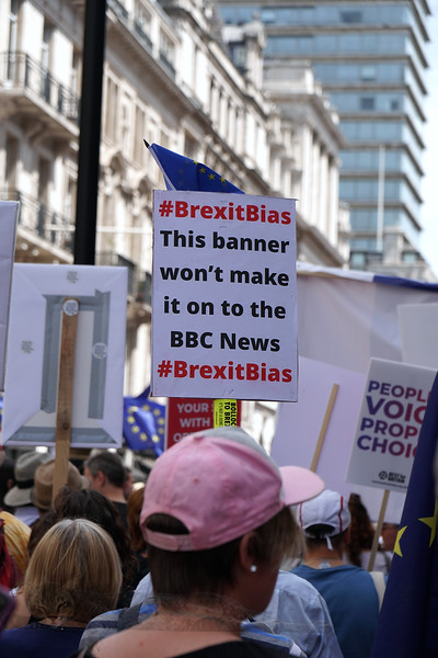BREXIT - Peoples Choice - BREXIT March - June 2018