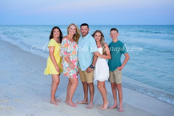 The Silveira family  |  Panama City Beach