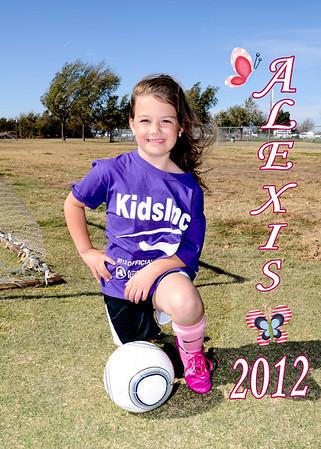 Soccer Arden Road Kindergarten 2012 Purple Team