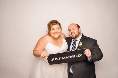 Kim & Jason's Wedding Photo Station