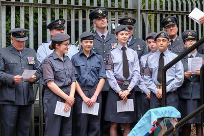 RAF Memorial Rededication