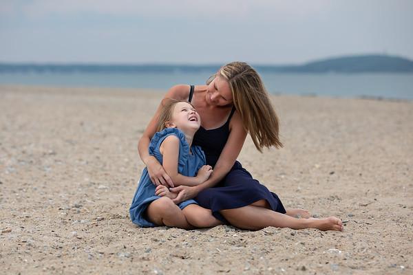 E's Beach Family Session