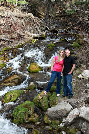 April & Shaun (engagements, Millcreek Canyon)