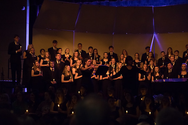 Arvada West Holiday Collage Concert 2019