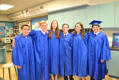 Holy Family School 8th Graders Graduate