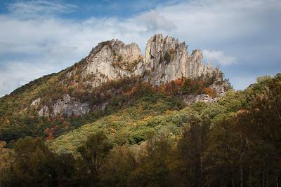 Seneca Rock - Oct. 4, 2014