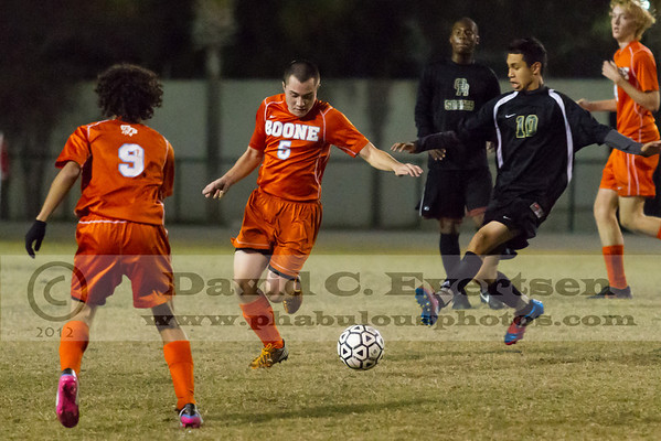 Oak Ridge Pioneers @ Boone Braves Boys JV Soccer - 2012