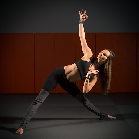 Yoga Instructor Alicia Blanchar