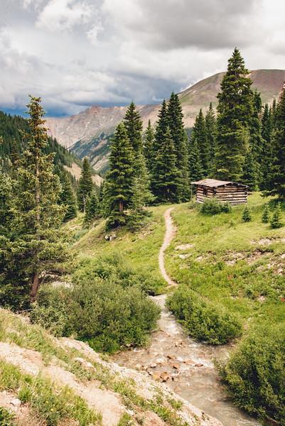 Lone little cabin
