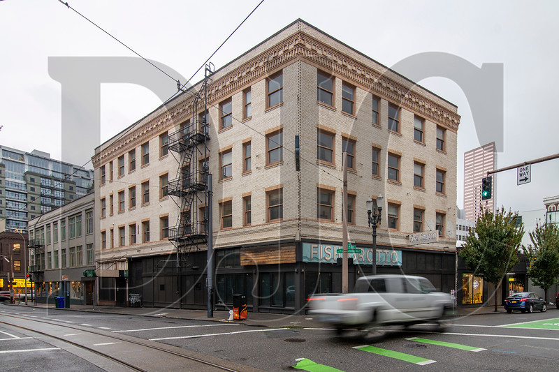 The Joyce Hotel building in downtown Portland will be rehabilitated to provide 66 units of affordable housing. The project is one of nine announced this week by the city of Portland and Multnomah County that will provide a total of about 930 subsidized units aross the city. (Sam Tenney/DJC)
