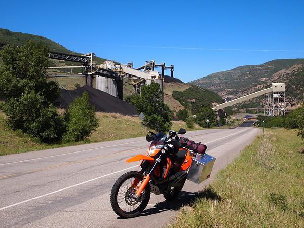KTM690 Ride; Kebler, Cottonwood, Hagerman Passes