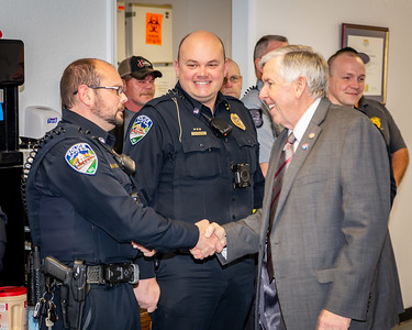 Governor Parson's Visit to PBPD