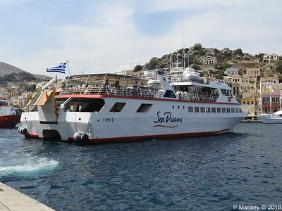 Ferries at Symi 12 Sep 2018
