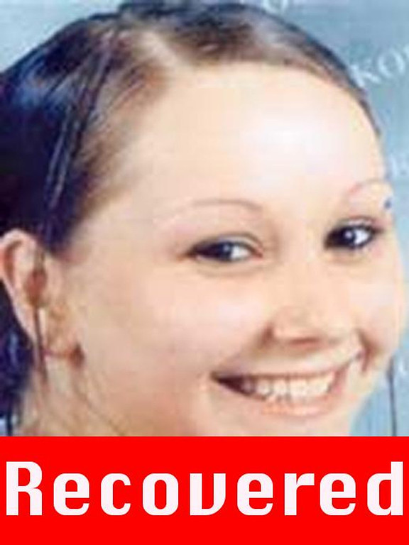 """. This photograph obtained on May 6, 2013 courtesy of the FBI shows Amanda Berry, who went missing on April 21, 2003, after leaving the fast food restaurant at which she was employed a decade ago, and was found alive May 6, 2013 in a residential area of Cleveland, Ohio. Three women who had been missing for years -- two of whom disappeared as teenagers -- were found alive in a house in Cleveland, police in the US state of Ohio said Monday. \""""All three women, Amanda Berry, Gina DeJesus and Michele Knight, seem to be in good health,\"""" Cleveland police said in a statement. (Picture are right is a \""""photograph progressed to 17 years) AFP PHOTO /  FBI"""