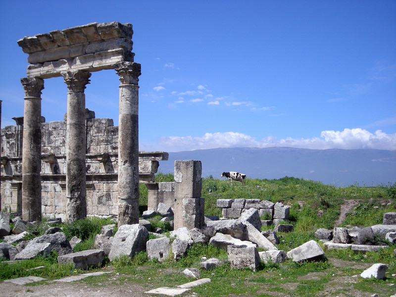 Greek ruins at Apamea