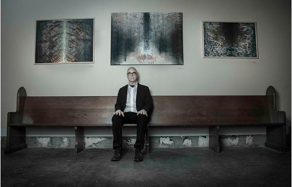 Dean Brown and paintings