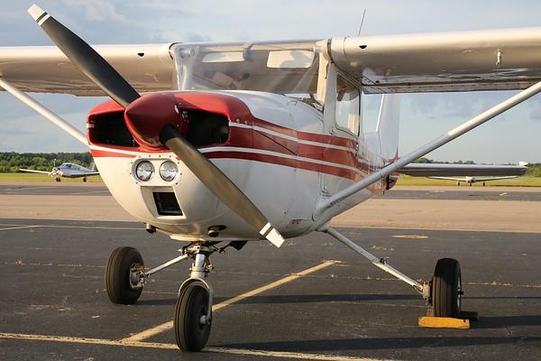 """1975 Cessna 150M """"Commuter"""", Norfolk, 04Aug18"""